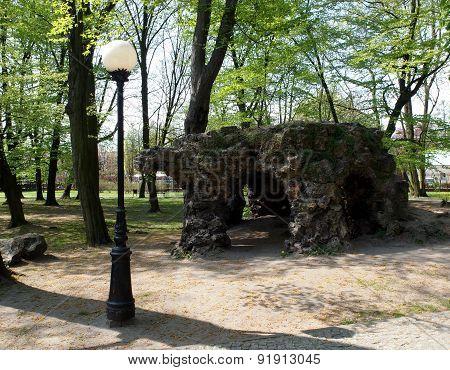 Grotto park.