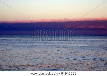 Calm Ocean Waters Of Waimanalo Bay
