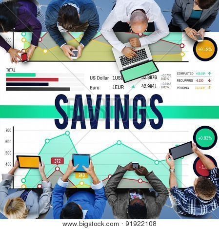 Saving Account Save Finance Money Fund Concept