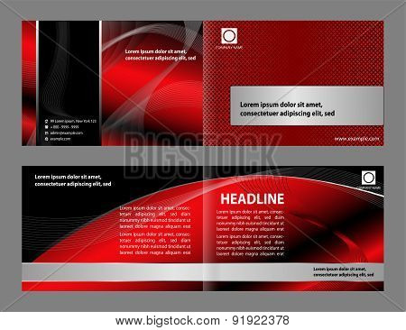 Professional business corporate brochure or cover design