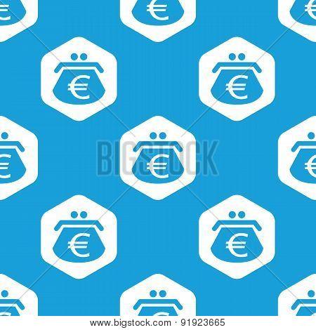 Euro purse hexagon pattern