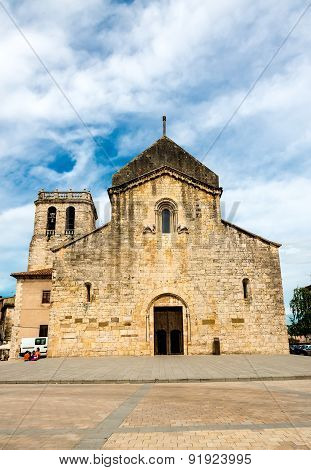 church Sant Pere in Besalu, Spain