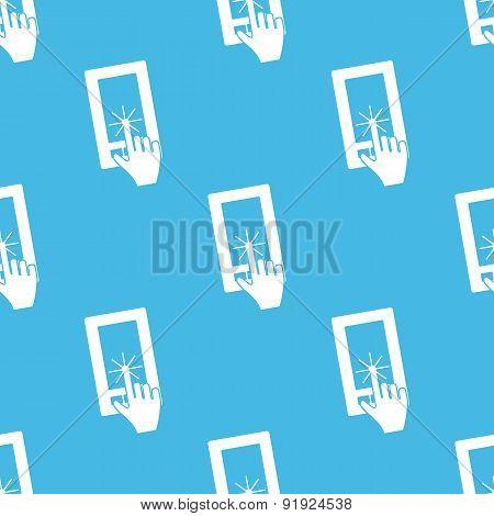 Touching screen pattern