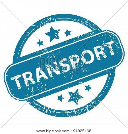 TRANSPORT round stamp