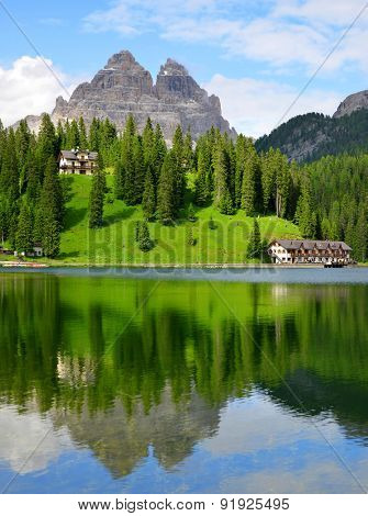 Lake Misurina and Tre Cime di Lavaredo - Dolomites, Italy