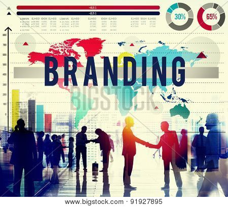 Branding Identity Marketing Strategy Copyright Concept