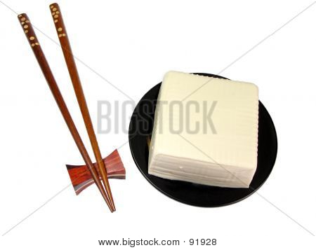 Tofu And Chopsticks