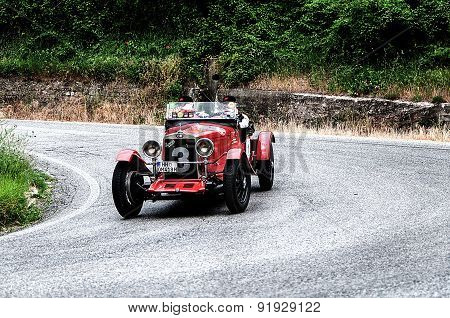 old car O.M. 665 SSMM Superba 1930 mille miglia 2015