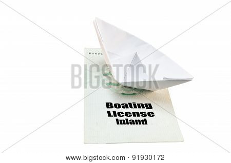 Boat License Inland