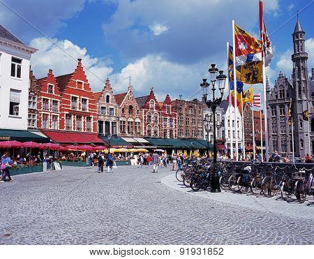 The Market Place, Bruges.