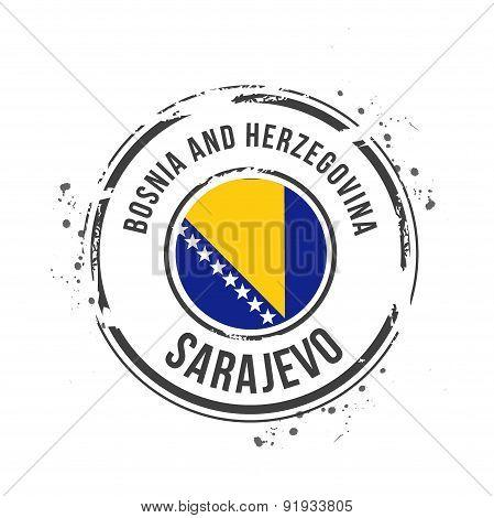 Stamp Sarajevo