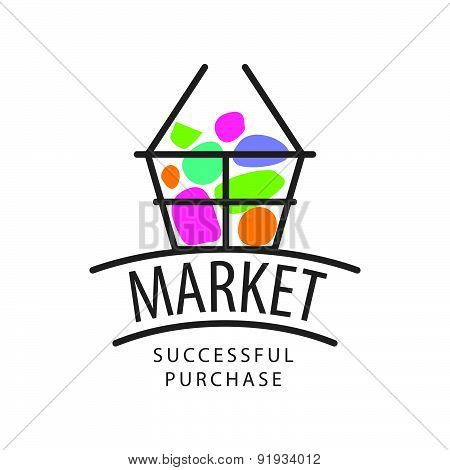 Vector Recycle Logo With The Product For The Market