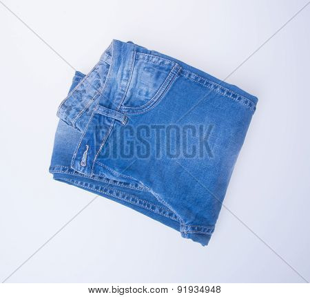 Jeans. Jeans On Background. Jeans On A Background.