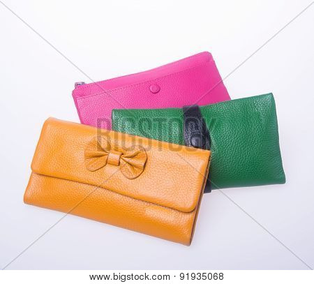 wallet or purse woman