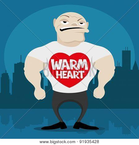Warm heart.