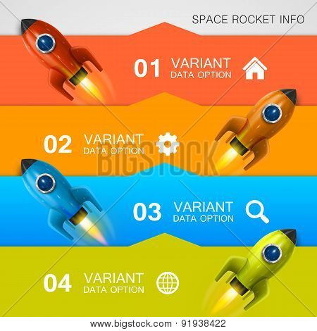 Rocket racing info art cover
