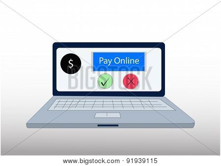 pay online vector