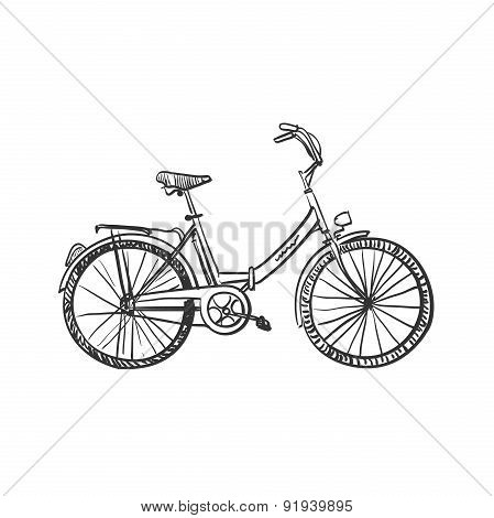 doodle bicycle