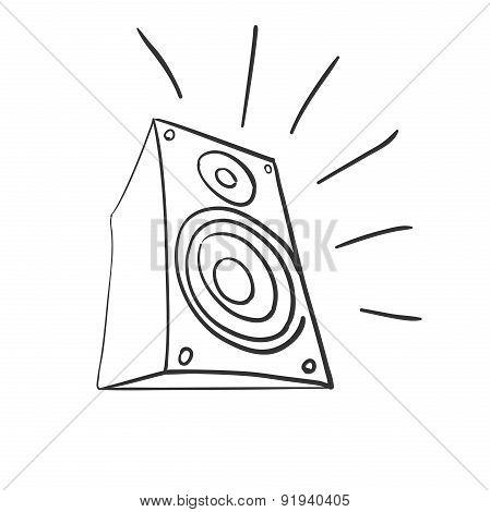 Doodle speaker