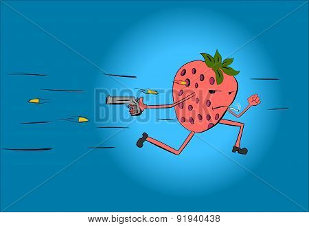 pursuit of strawberries