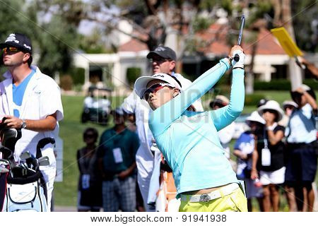 Jenny Shin At The Ana Inspiration Golf Tournament 2015