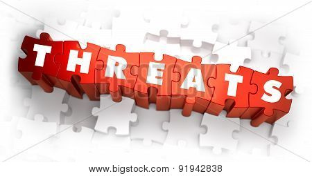 Threats - Word on Red Puzzles.