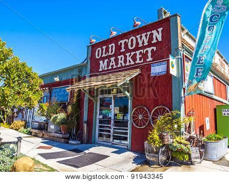Old Historic Town Market At The Beach Promenade