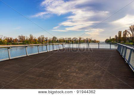 Empty small pier
