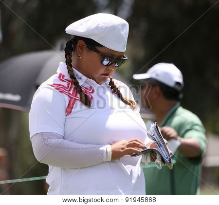 Christina Kim At The Ana Inspiration Golf Tournament 2015