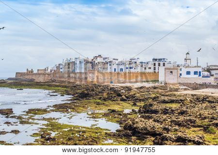 As-Sawira, Morocco - general view of town from the port
