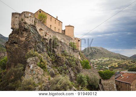 Views of Corte in Central Corsica
