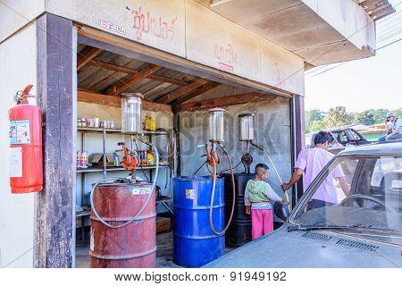 Antique Gas Pumps.