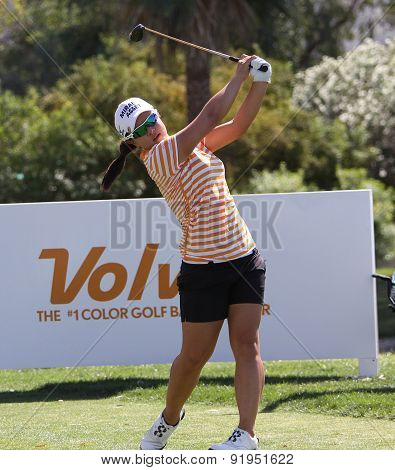 Sei Young Kim At The Ana Inspiration Golf Tournament 2015