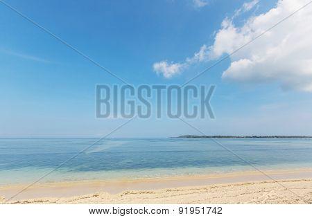 Beautiful ocean beach