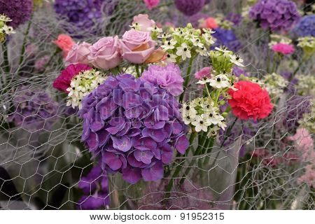 ZAGREB, CROATIA - MAY 27: Flowers exposed on Floraart, 50 international garden exhibition in Zagreb, Croatia, on May 27, 2015.