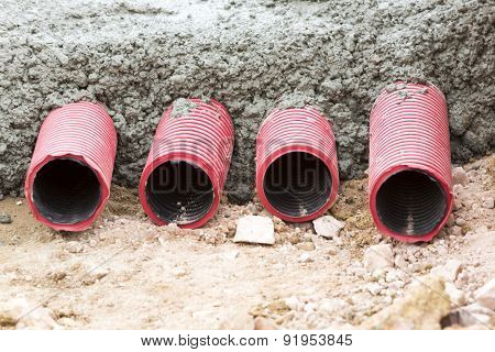 Corrugated Pipes For Electrical Installation