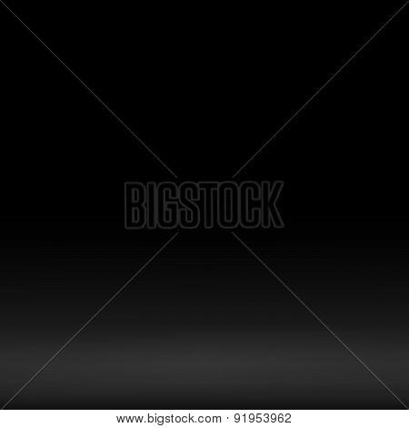 black empty backdrop