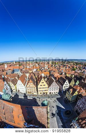 Rothenburg Ob Der Tauber, Bavaria, Germany