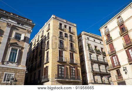 Historic houses in Barcelona