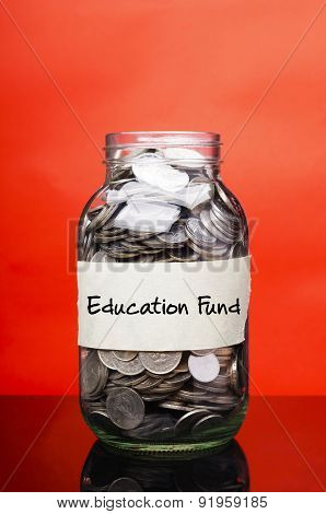 Education Fund - Financial Concept