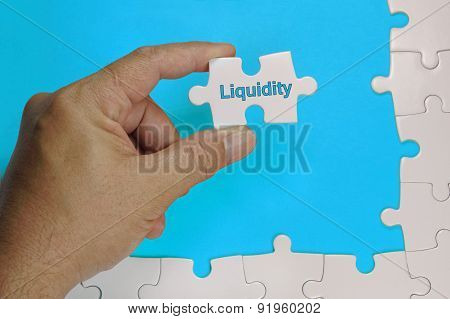 Liquidity Text - Business Concept