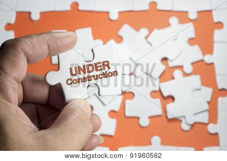 Under Construction Word
