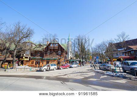 In Here Krupowki Street Begins, Zakopane
