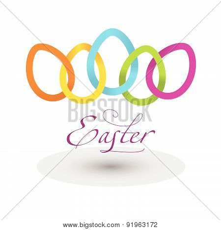 Vector Illustration Dedicated To Easter.