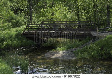 Creek Footbridge