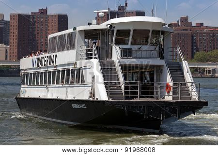 Ny Waterway's East River Ferry