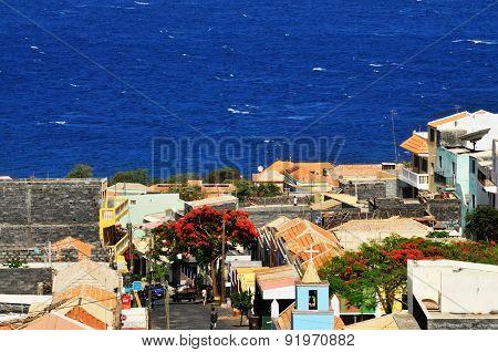 Santa Filomena Town In The Island