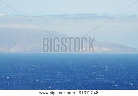 North Point Of Brava At Sea