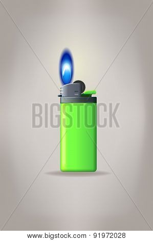 small lighter