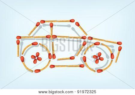 matches business car